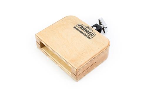 foot drum wood block
